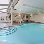 Enjoy a swim in our indoor pool or a dip in our hot tub