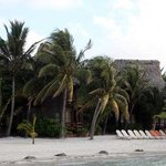  Our caban taken from the beach