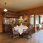  Mount Burgess Dining Room At Emerald Lake Lodge
