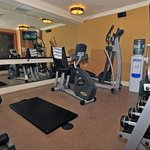  Fitness Room at the Fox Hotel &amp; Suites
