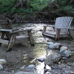 Take a seat in the river