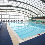 Swimming Pool is covered and heated in Winter
