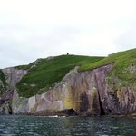 Cliff under Eask Tower Dingle