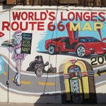 World's longest Route 66 map