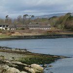 Isle of Mull Hotel and Spa...view from ferry port.