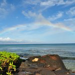 Perfect rainbow enclosing Lanai