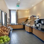 Enjoy our complimentary breakfast buffet