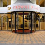 Crowne Plaza Chester Front Entrance accessed from Trinity Street