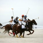 Beach Polo at Sandbanks Beach
