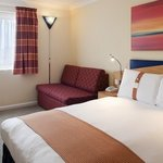  Relax in a comfortable double room. Sofa beds are available.