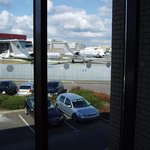  Airport views from triple-glazed rooms at our Luton Airport hotel