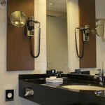 Bathroom with luxury Spa amenities and tub