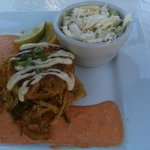  Crab Cake and Cole Slaw