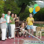  Our Guest -- Celebrating a birthday poolside