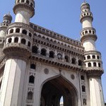  The Charminar in old Hyderabad
