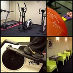 mini gym- fitness center