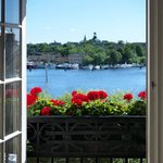 View at Hotel Diplomat Stockholm