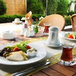  Breakfast Pleasure at terrace in summer
