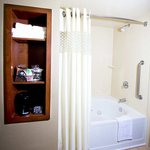 King Guest Room with Whirlpool Bathroom