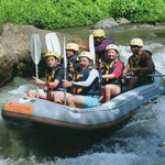  great white water rafting !