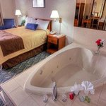 Heart Shaped Jacuzzi Room
