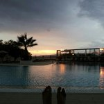  sunset feet from the pool