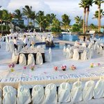 Wedding Reception at Costa Caribe Pool Area