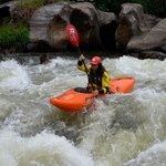  Taking on the Rapids by Kayak