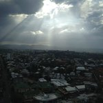  Looking across the city&#39;s north from the Meriton&#39;s 36th floor