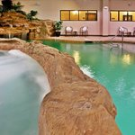  Rock surrounds the Indoor Pool and Hot Tub.