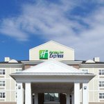 Entrance to the New Holiday Inn Express Stellarton