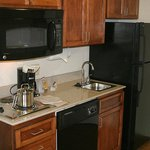 Stove, Microwave, Sink & Full Size Fridge