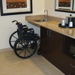 Wheelchair Access Wet Bar