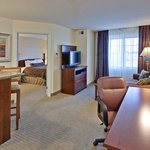  Room to work, entertain, or relax.
