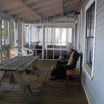 Trapp House  Porch - House Rental