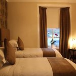  one of the newly decorated rooms at glenegedale