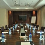 Our spacious modern Board Room which caters for all business needs