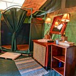  Guest tent ensuite bathroom