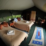  Guest tent interior