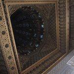  The ornate ceiling of the Mausoleum