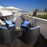  K+K Hotel Picasso Barcelona Rooftop Terrace