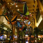 Aria Hotel Las Vegas Reception