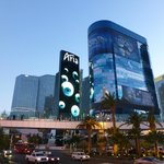 Aria Las Vegas sign outside