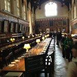 The dining hall of Harry Potter.... ;-)