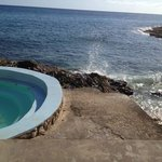 Saltwater pool on the cliffs