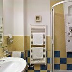 Classic Room Bathroom at Mamaison Hotel Andrassy