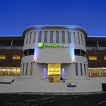  The welcoming Holiday Inn Express Crewe at dusk