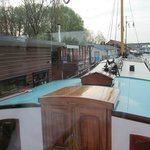 view from wheelhouse (above dining area)