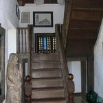 Stairs and antique furnishing