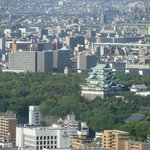  nagoya castle from the room